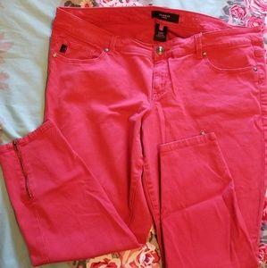 Torrid Red Ankle Zip Skinny size 20